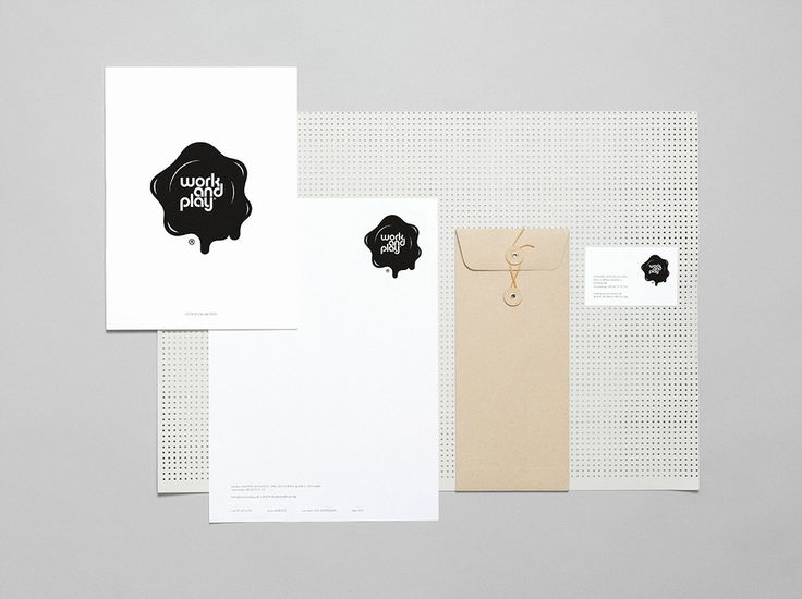 WORK & PLAY - Corporate ID #Branding #Fashion #Identity #Logo #Naming #Stationery