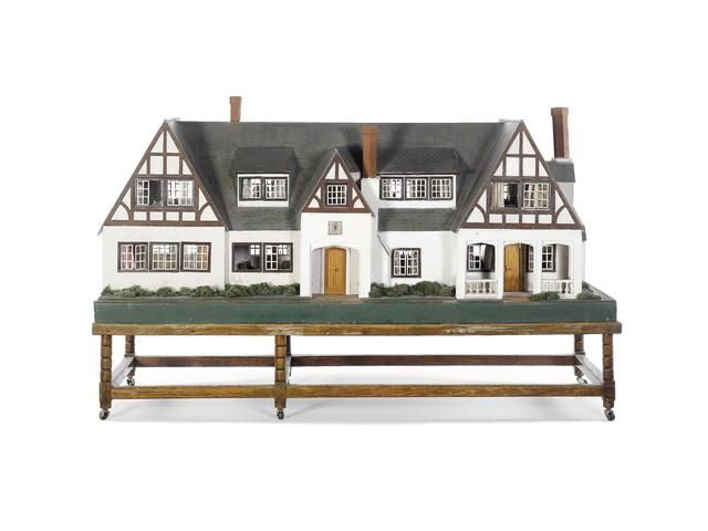 The Peggy Lines Dolls House, 1936 This Dolls House was especially made at the Lines Bros. workshop for Henrietta Katherine Peggy Lines, know...