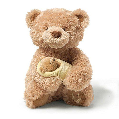 Gund Rock-A-Bye Baby Musical Teddy Bear Gund http://www.amazon.com/dp/B00BJ60HB6/ref=cm_sw_r_pi_dp_litKub1A8PGEM