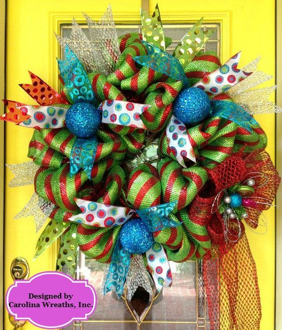 Hey, I found this really awesome Etsy listing at http://www.etsy.com/listing/156211005/christmas-wreath-1-sku-122510