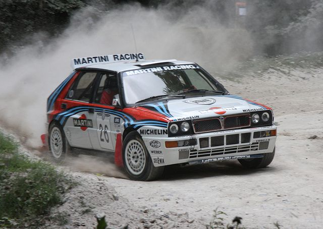 Lancia Delta Integrale   Flickr - Photo Sharing! Some Rights Reserved, Author: Brian Snelson