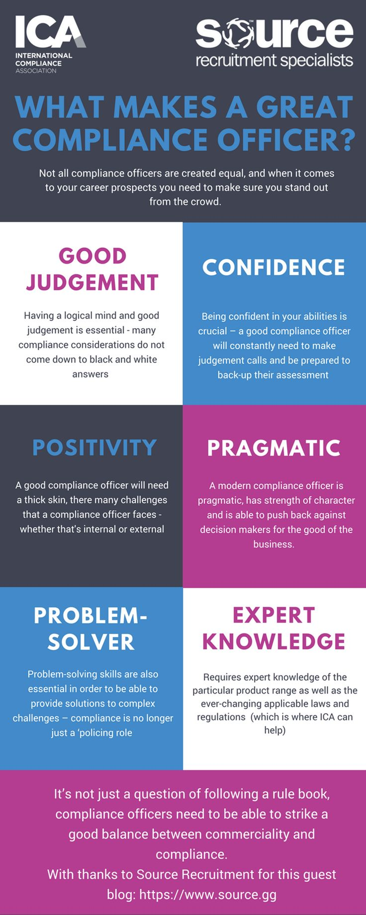 compliance manager resume%0A Insight   What makes a great compliance officer
