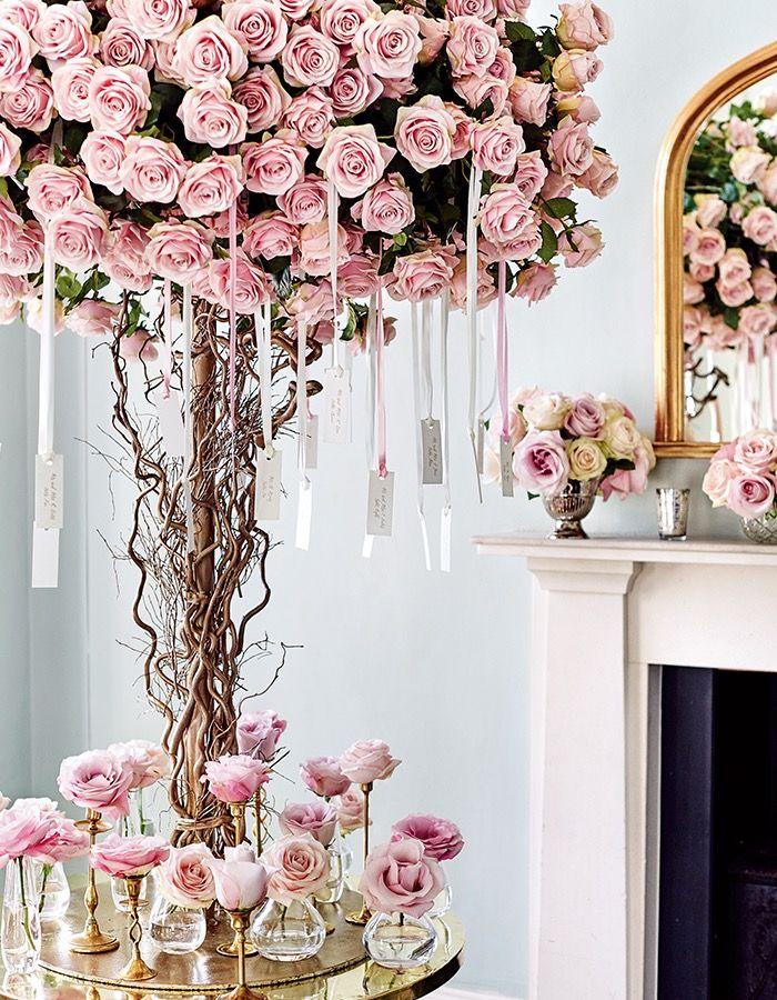 1000本のバラが彩るロマンティックな時間。【Rose編】幸せあふれる、世界一のウエディングテーブル。