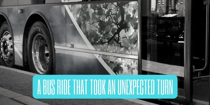 """""""A Bus Ride That Took An Unexpected Turn"""" http://www.ministrylift.ca/bus-ride #blog #question #prayer #evangelism #witness #prompting"""