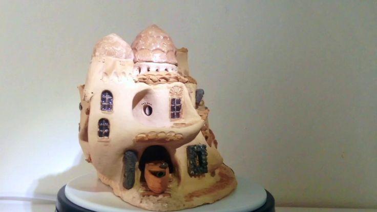 Candle holder Sardinia Village. Shop: https://www.etsy.com/it/listing/265947064