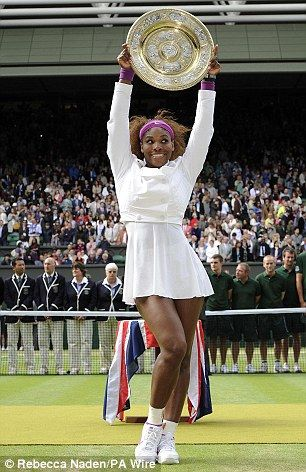 Serena Williams has beaten Agnieszka Radwanska in the Wimbledon women's final, taking the title for the fifth time.