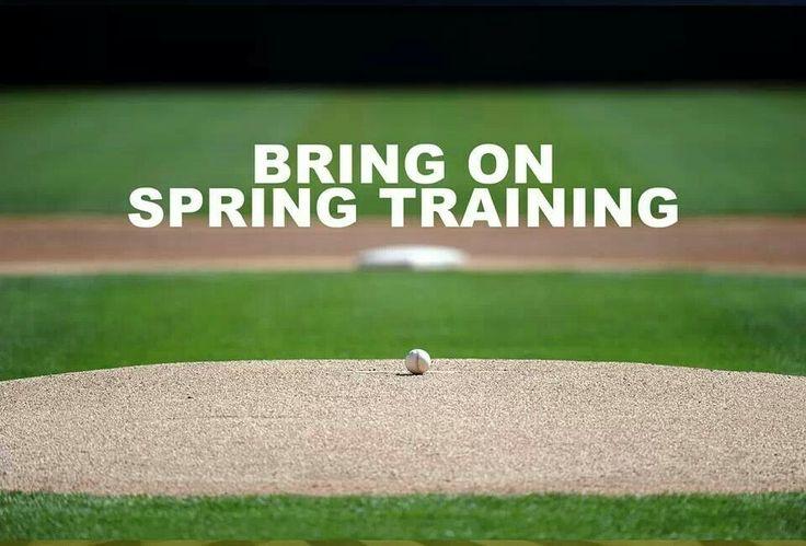 bring on spring training