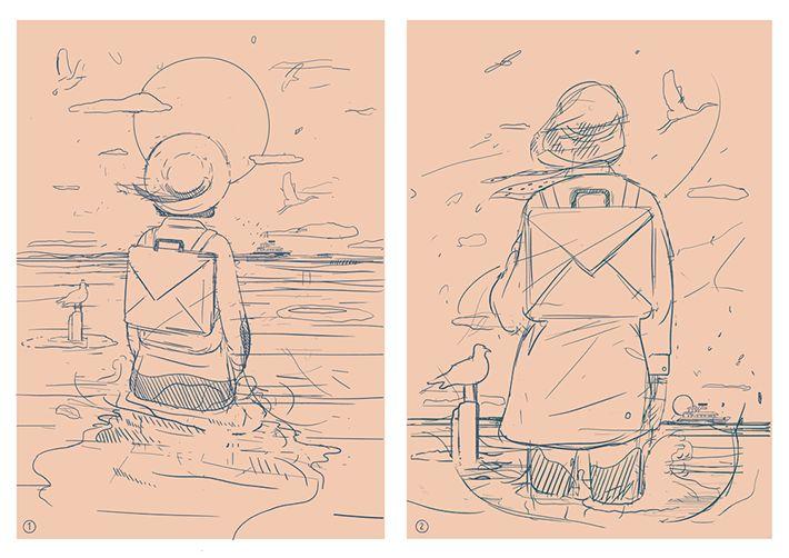 Behance :: Summer stories by Karolis Strautniekas