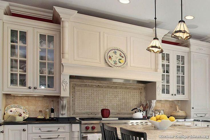 Kitchen Of The Week Mantel Style Range Hood Basketweave