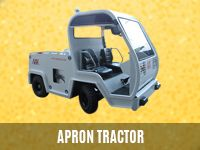Apron Tractor | Aircraft Tow Tractor | Baggage Tractor | Tow Tractor Manufacturers – Ground Support Equipment