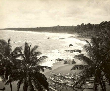 Mount Lavinia Beach Sri Lanka