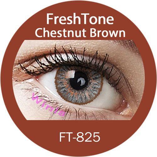 Chestnut Brown Contact Lenses (FreshTone)