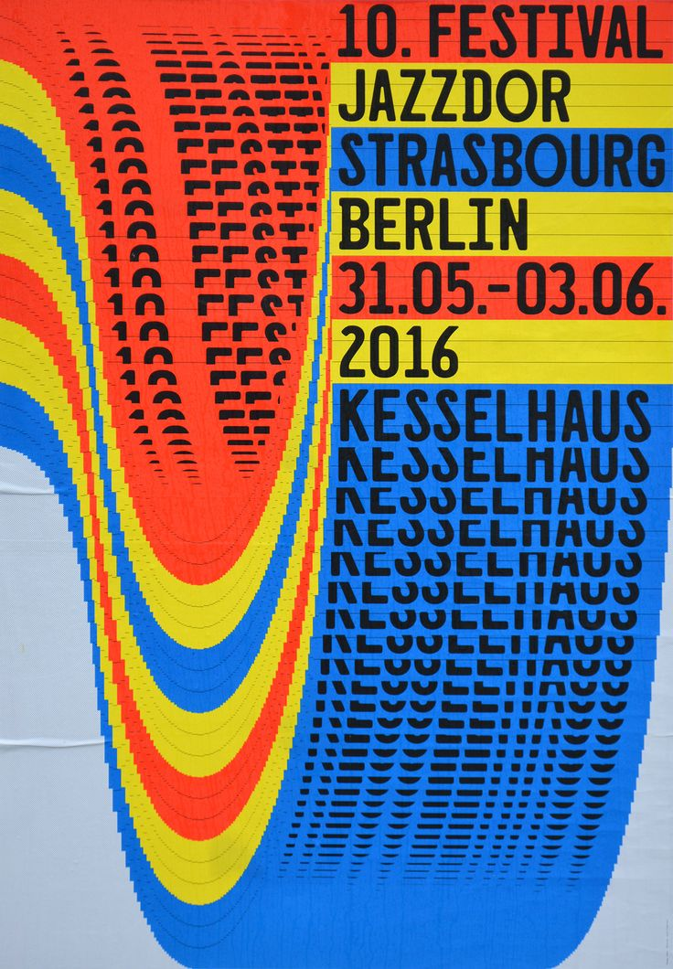 [Idea: glitch screen window drag] Jazzdor Strasbourg Berlin 2016 posters