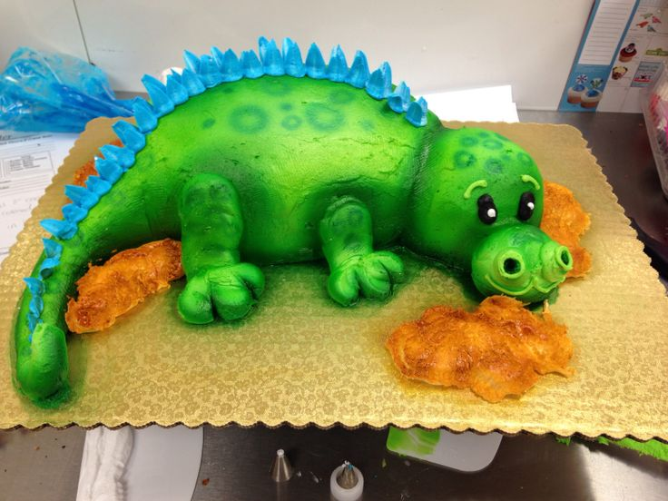Decorating A Dinosaur Birthday Cake : 197 best images about Not your Grandmas Cakes! on ...