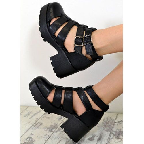Cut Out Chunky Boots Storenvy_original