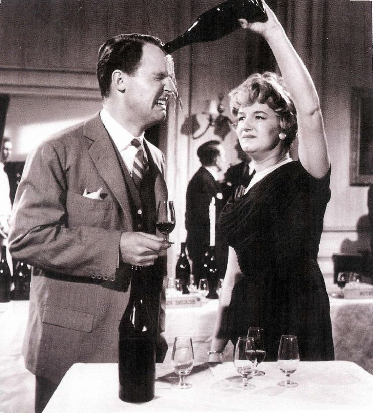 Joan Sims gets tipsy in Carry On Regardless