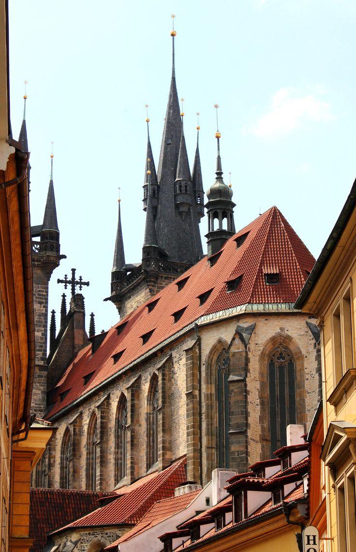 Church of Our Lady before Tyn , Prague.