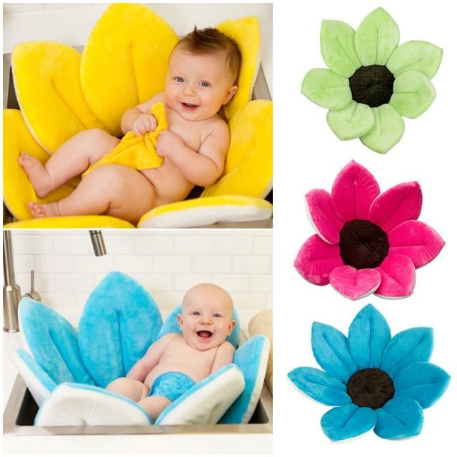 DIY Idea Baby Blooming Bath Flower | UsefulDIY.com