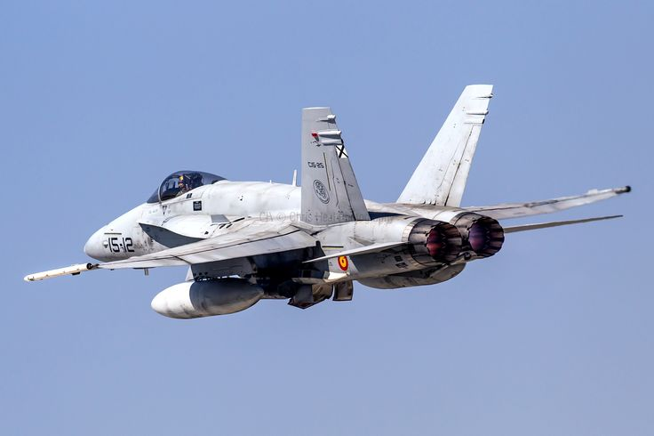 Spanish Air Force F/A-18A Hornet