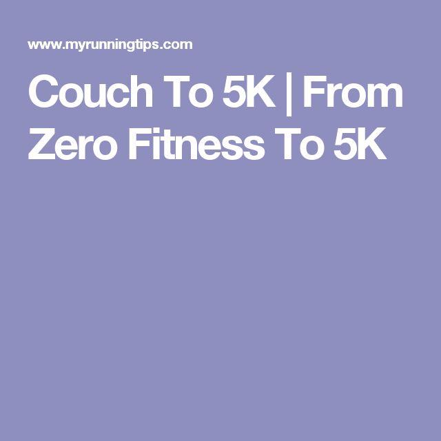 how to start running from zero fitness