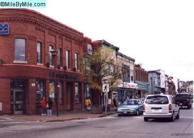 down town  Bridgewater on king street