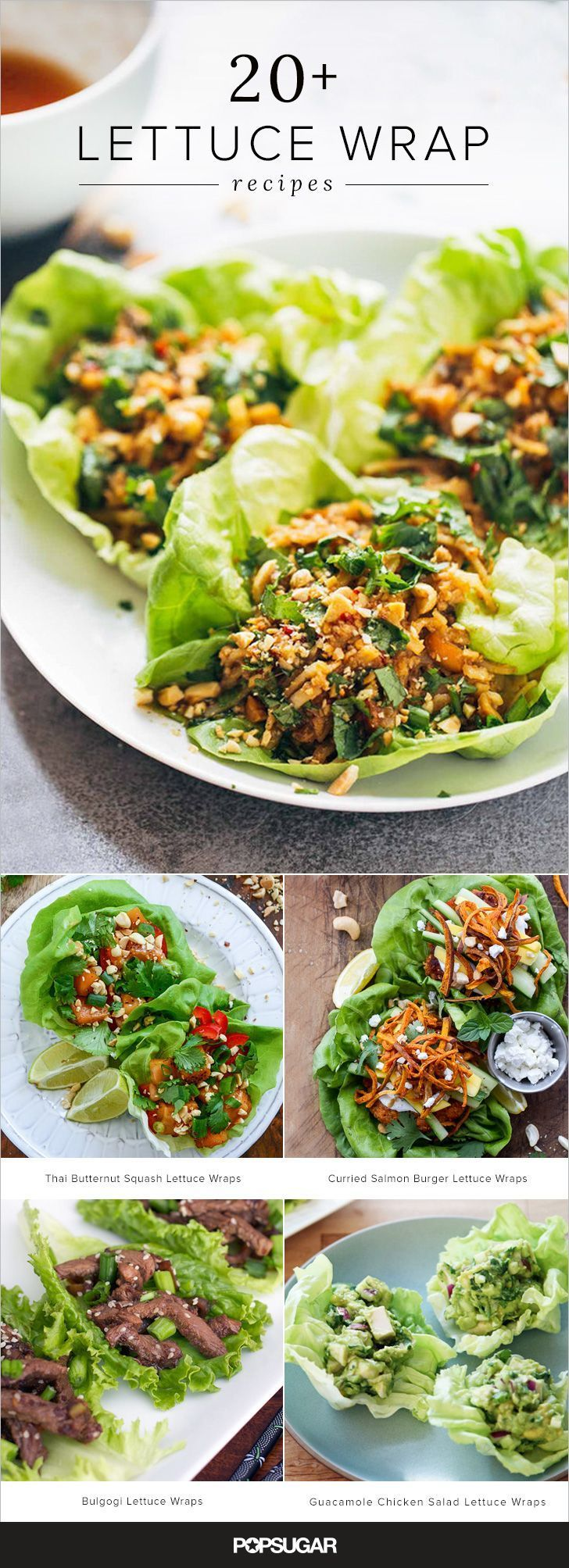 This collection of recipes draws inspiration from around the globe, including Korean-, Thai-, Mexican-, Greek-, and Vietnamese-inspired lettuce wrap options. Keep reading to find your new favorite way to freshen up dinner.