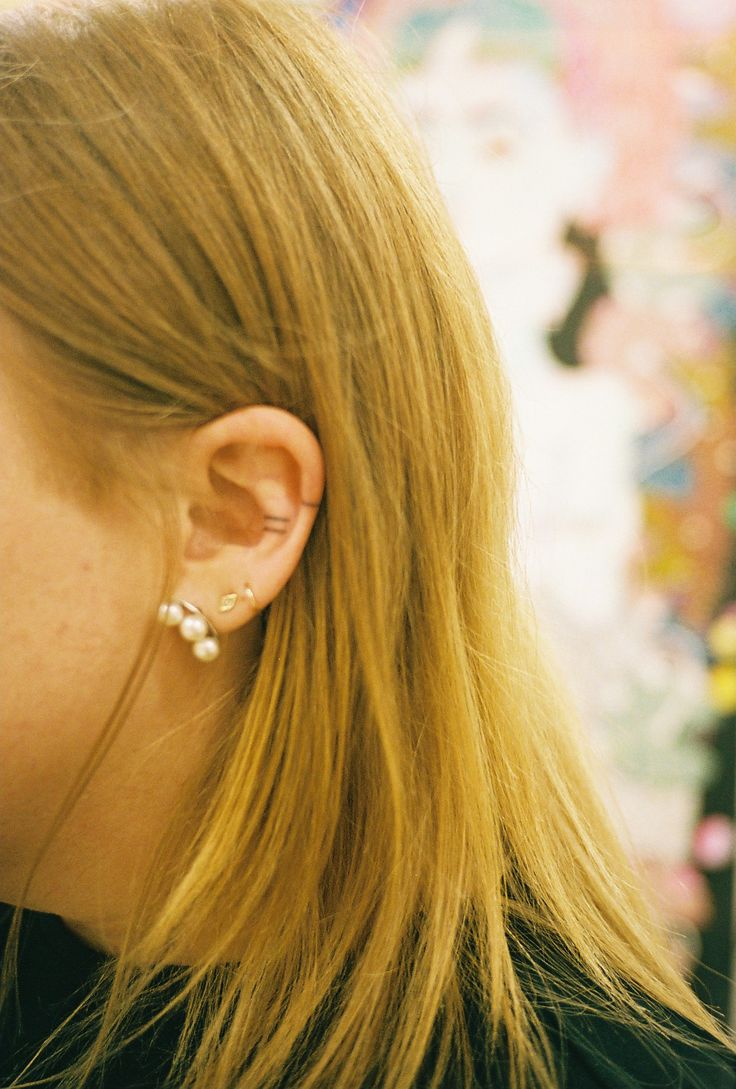MISO - Miso : Home-Made Tattoos : Alice's ear. Traded for...