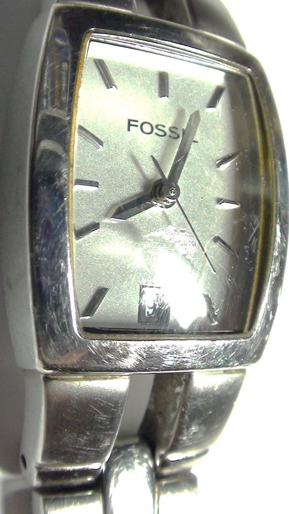 1990's Fossil Women's  Watch Great Face with por VINTAGEARTJEWELRY, $25.00