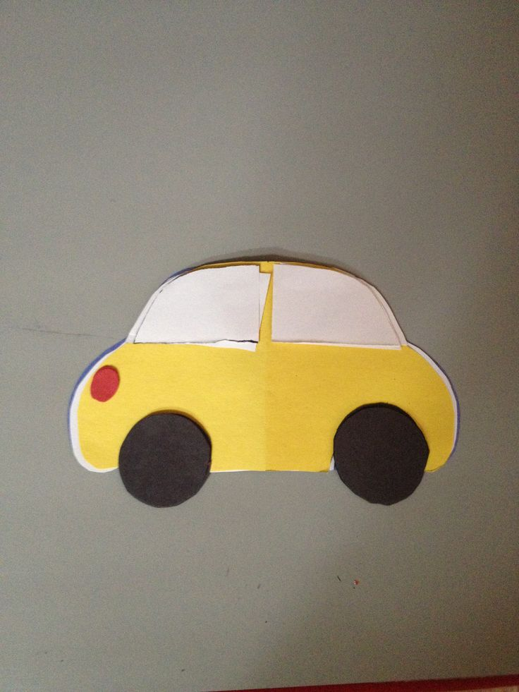 simple car craft for toddlers