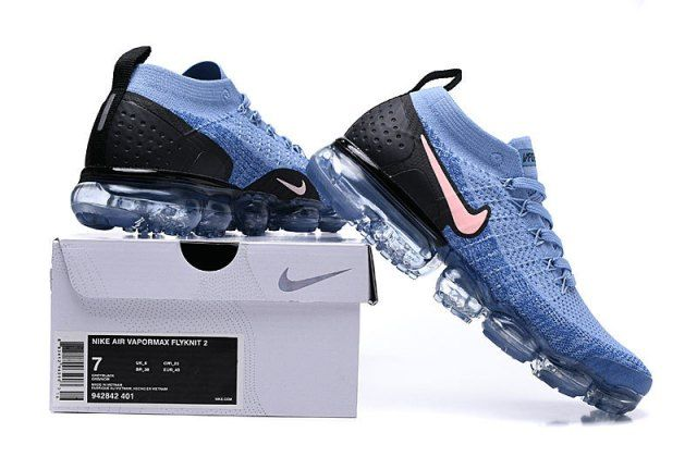 sports shoes ed487 50aa1 Nike Air Vapormax Flyknit 2 Gym Blue Men's Running Shoes ...