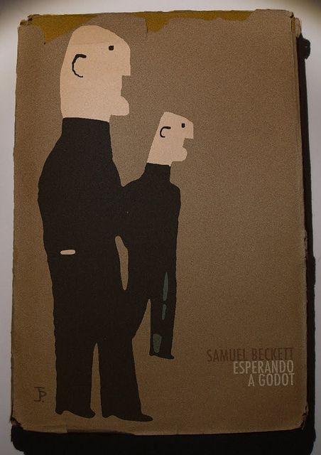 Samuel Beckett, Esperando a Godot, 1969. Cover by Joaquín Pertierra.