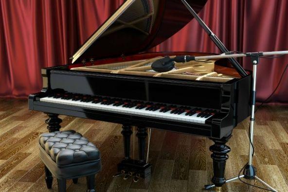 """""""1990 Studio Grand Piano"""": libreria di pianoforte per Kontakt"""