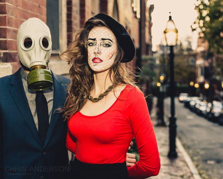138 best fashion affair comic pop art images on pinterest halloween makeup pop art makeup and art pop - Art Costumes Halloween