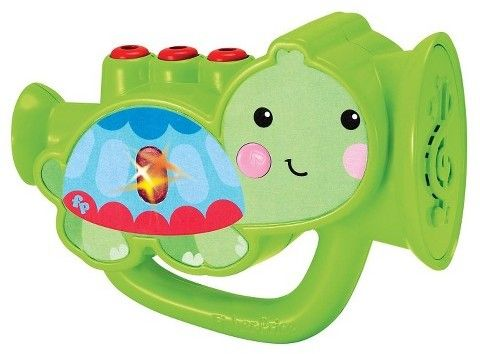 Fisher-Price My First Real Trumpet Music Set - Green