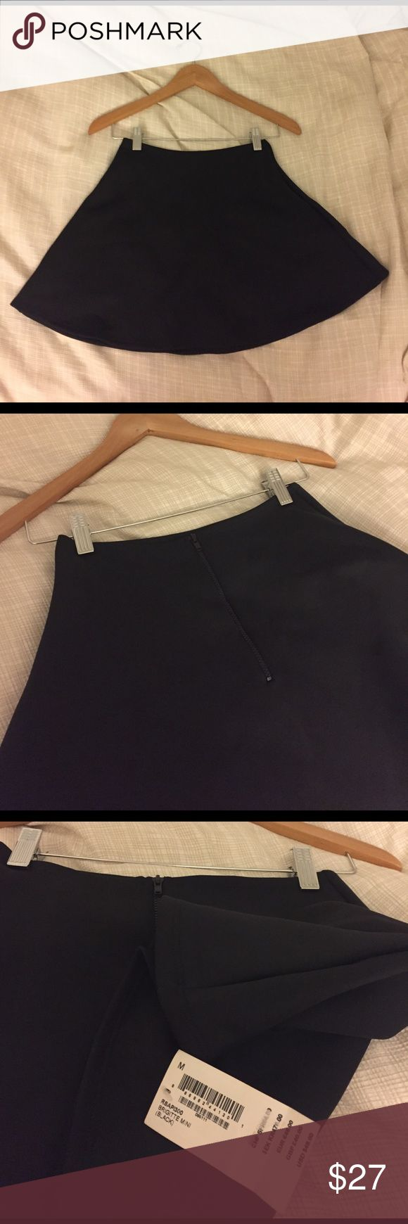 Brand New American Apparel Black Circle Skirt Tags still on, never been worn. American Apparel Black polyester circle, high-waisted skirt. Size Medium. American Apparel Skirts Circle & Skater