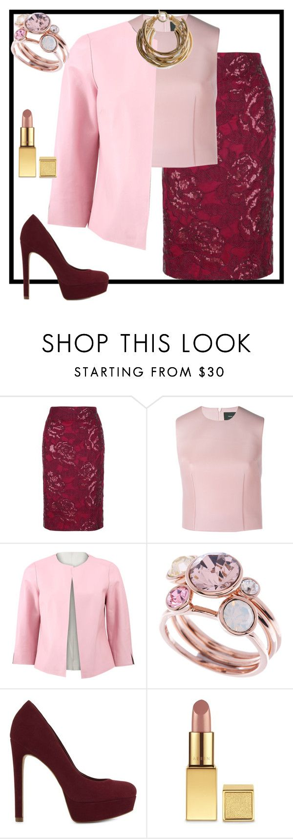 """Без названия #296"" by natali26-72 ❤ liked on Polyvore featuring Fenn Wright Manson, Simone Rocha, ESCADA, Ted Baker, ALDO, AERIN and Rosantica"