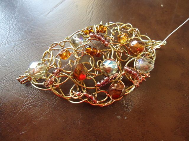 Knitting With Wire Tutorial : How to make viking knit jewelry tutorials the beading gem s journal