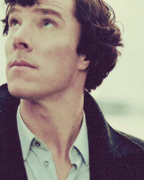 Well he's probably one of the most handsome people I've ever seen.. #cumberbitch