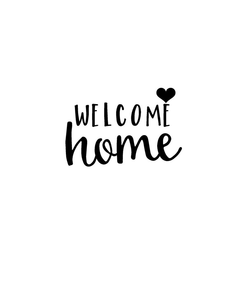 Effortless image inside welcome home sign printable