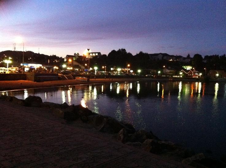 Puerto Varas al atardecer !!!