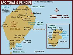 ✯ Sao Tome e Principe ✯   One of the most amazing, least visited islands in the world (off the coast of Mid-eastern Arfica) #8000tourists/peryear