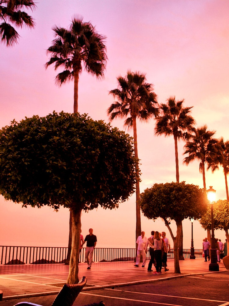 I bet you fancy having a relaxing walk along Marbellas beautiful promenade !
