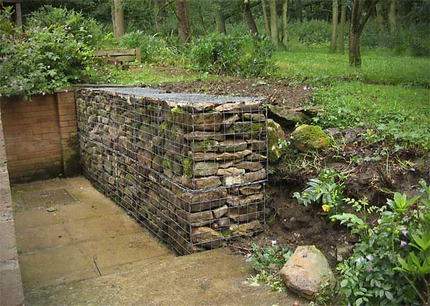1000 ideas about erosion control on pinterest gardening for Gabion landscaping