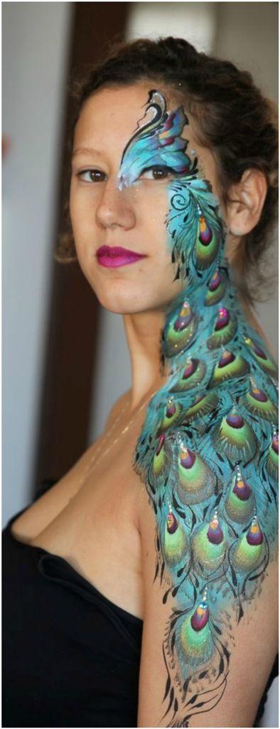 Best 25 Peacock Makeup Ideas On Pinterest Peacock Eye