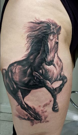20 Amazing Horse Tattoos | HORSE NATION
