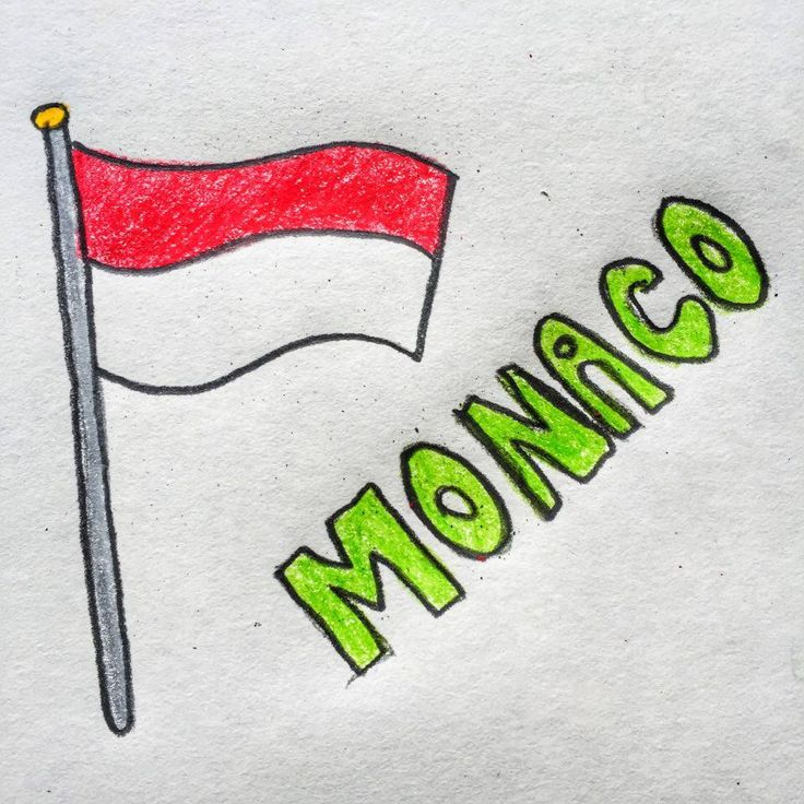 The flag of Monaco consists of two horizontal bands, the red one on top and the white one below. It is one of the world's oldest national banner and it has been used by the House of Grimaldi since 1339.
