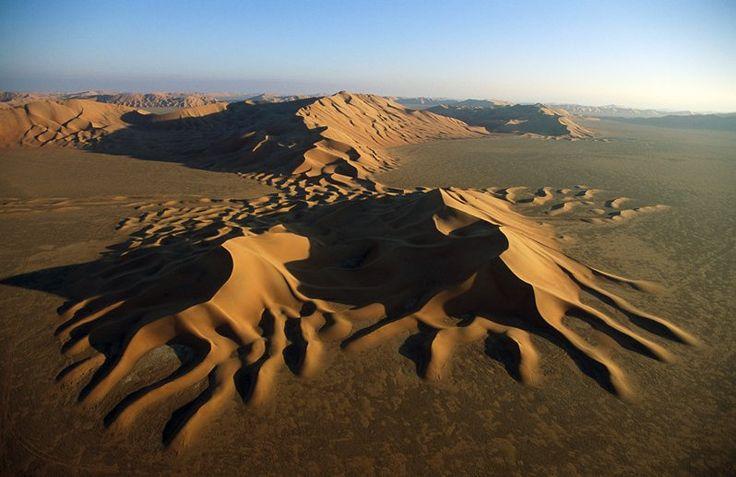 Dunes at Rub' al Khali National Park, Saudi Arabia