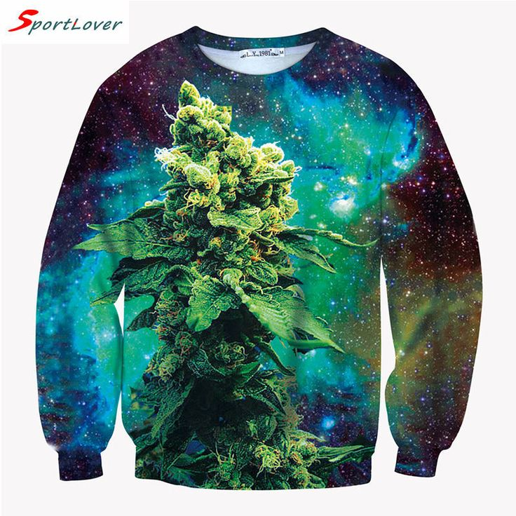 Sportlover Men Women Hoody Coral Weed Print 3D Galaxy Sweatshirt Hoodie Fashion Street Wear Hip Hop Outdoors Green Sweat femme-in Hoodies & Sweatshirts from Women's Clothing & Accessories on Aliexpress.com | Alibaba Group