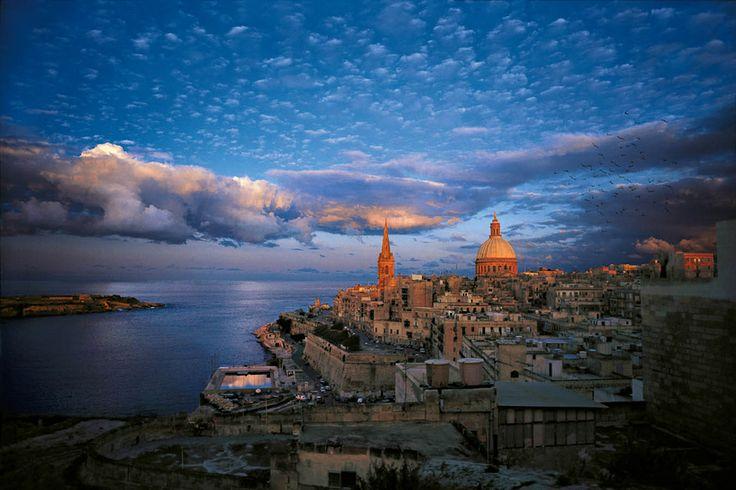 A City built for gentlemen, Valletta..  by Kurt Arrigo