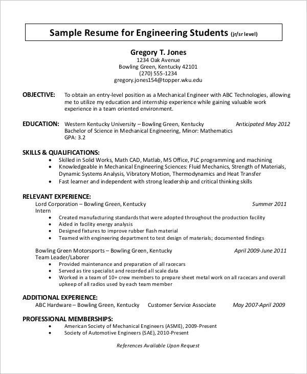Resume Templates For 4 Year Experienced Learn All About Resume